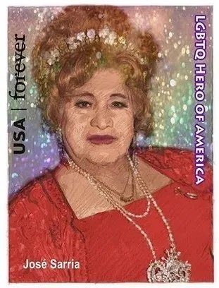 Jose Sarria stamp 2021