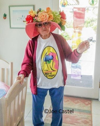 Mama Jose at home May 2013