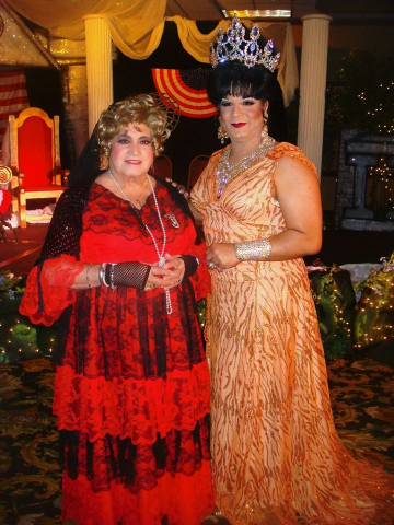 Jose Sarria and Alexis Miranda Sacramento May 2009