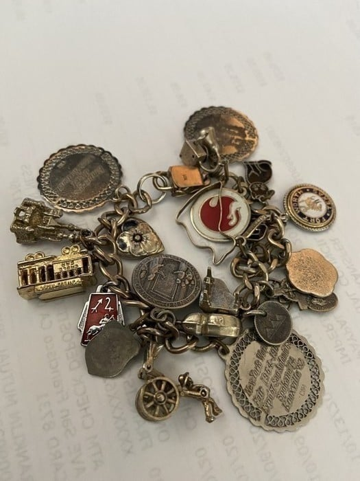 Artifacts-charm bracelet
