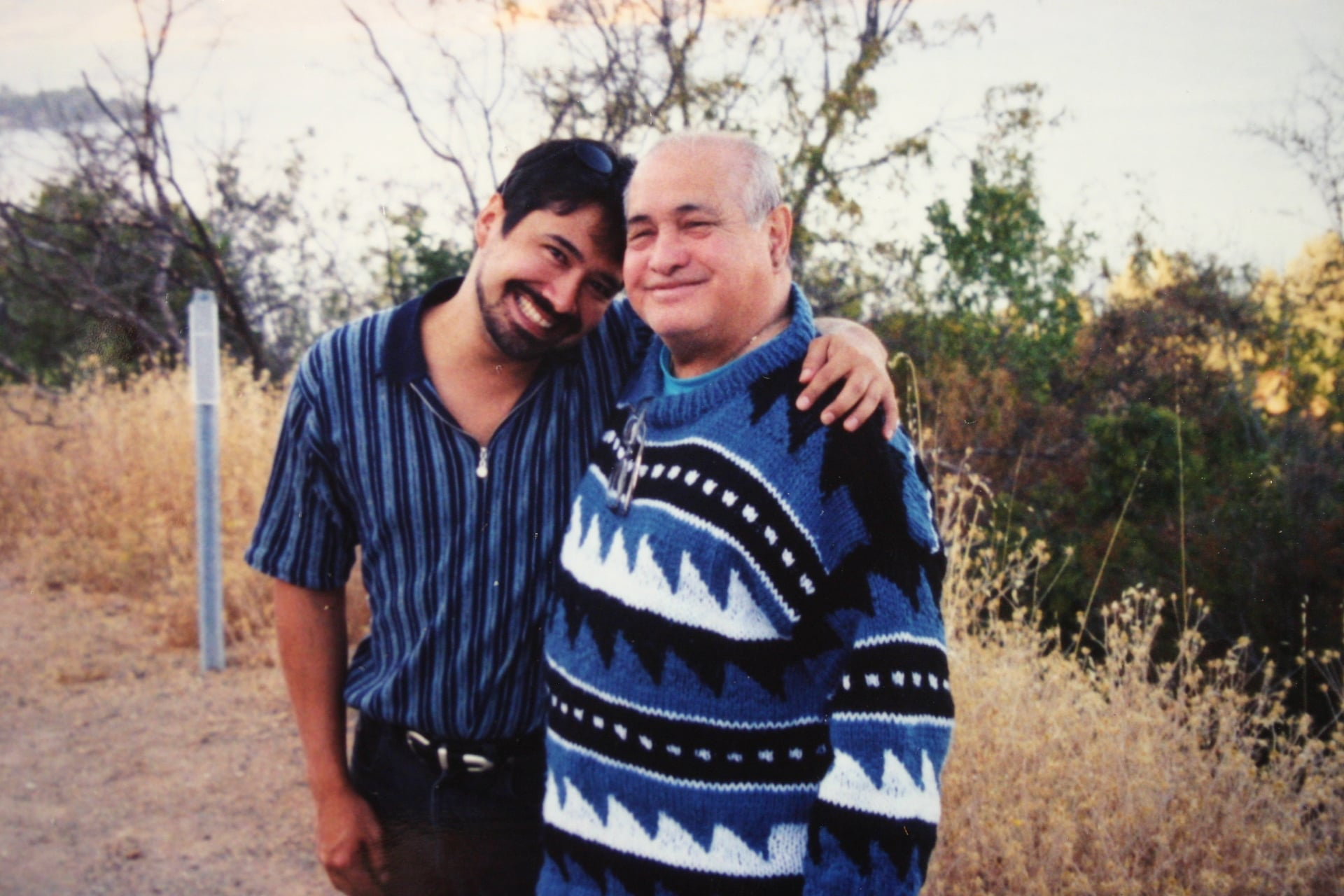 Jose and Joe Castel, Clear Lake, CA 1998