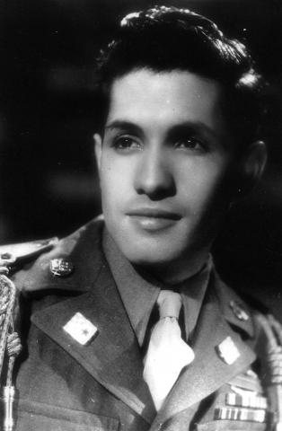Jose Sarria WWII Veteran