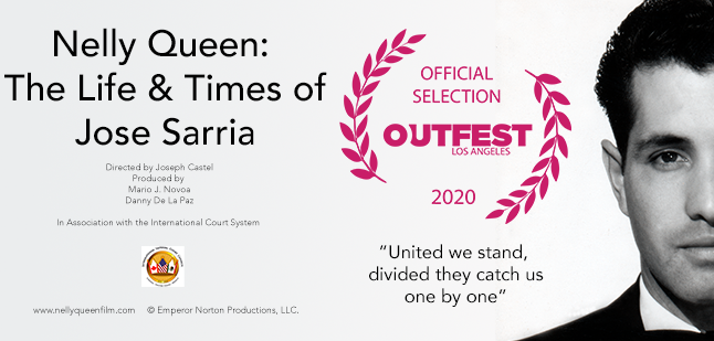 Nelly Queen at Frameline 45