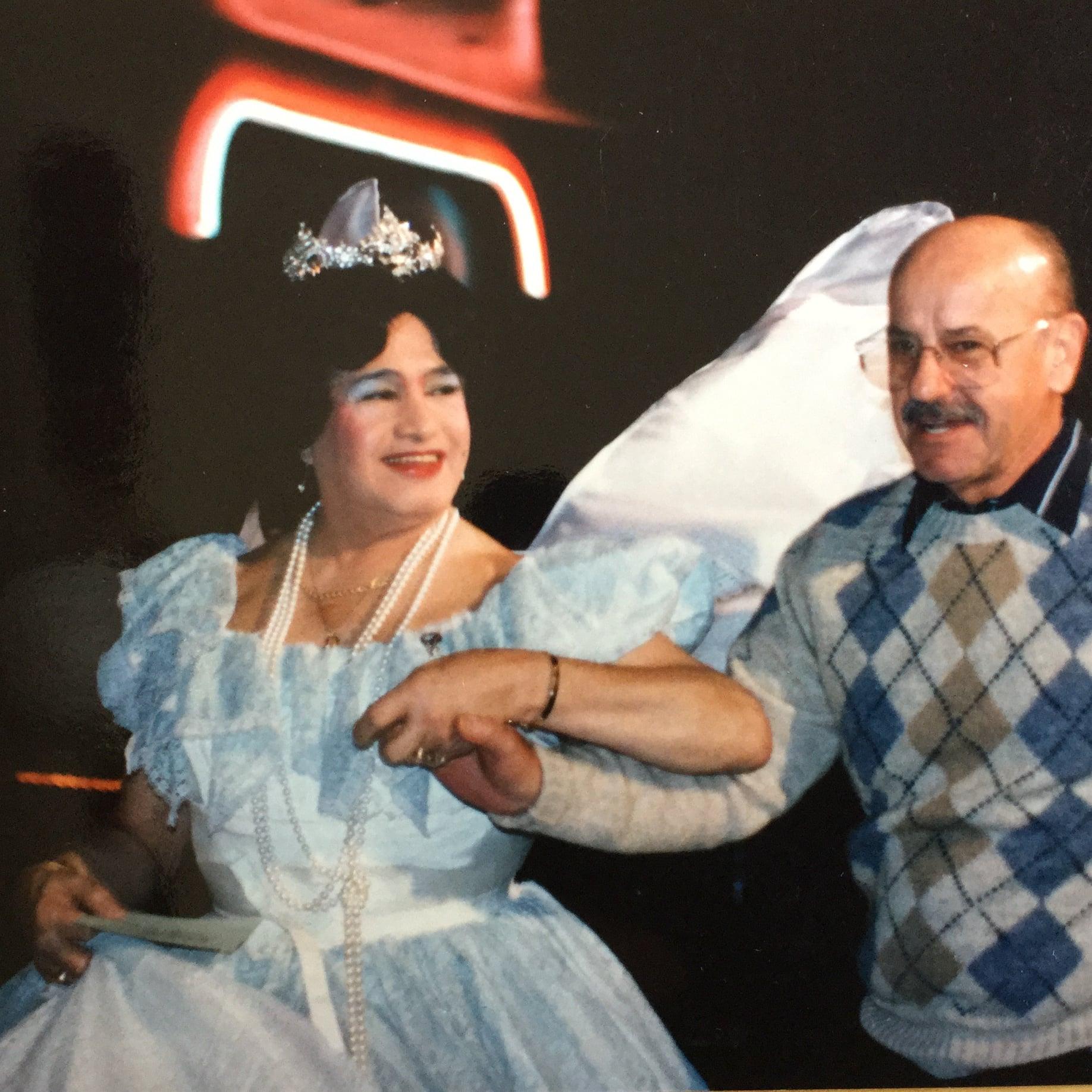 Jose as Sugar Plum Fairy at the first annual Dance Along Nutcracker in 1985