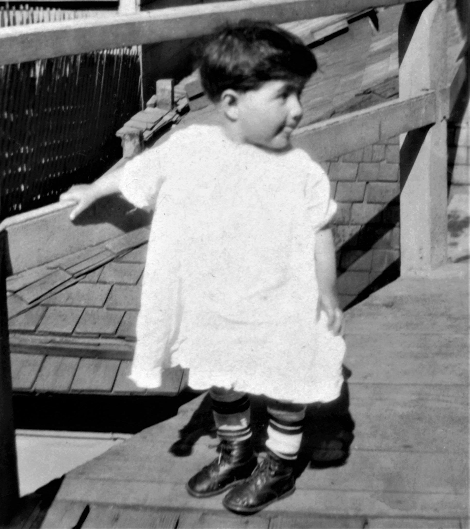 Jose childhood early dress-up photo